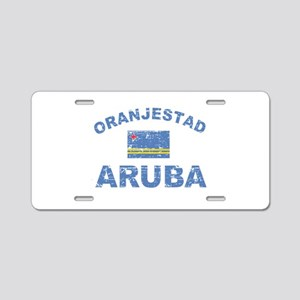 Oranjestad Aruba designs Aluminum License Plate