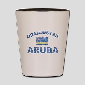 Oranjestad Aruba designs Shot Glass