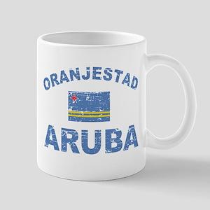 Oranjestad Aruba designs Mug