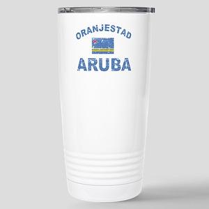 Oranjestad Aruba designs Stainless Steel Travel Mu