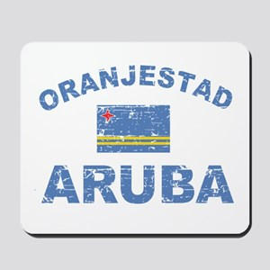 Oranjestad Aruba designs Mousepad