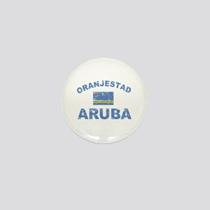 Oranjestad Aruba designs Mini Button