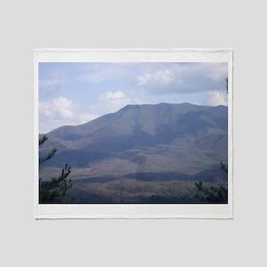 Smokey Mountains Throw Blanket