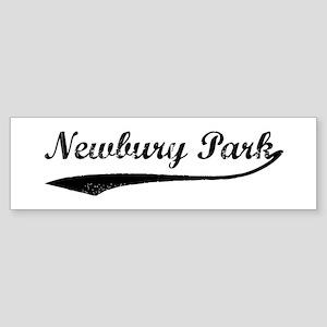 Newbury Park - Vintage Bumper Sticker