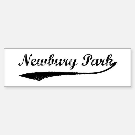 Newbury Park - Vintage Bumper Bumper Bumper Sticker