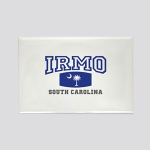 Irmo South Carolina, SC, Palmetto State Flag Recta