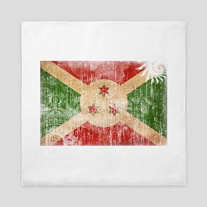 Burundi Flag Queen Duvet