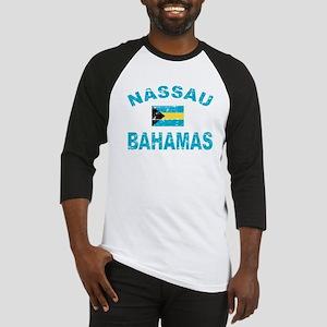 Nassau Bahamas designs Baseball Jersey