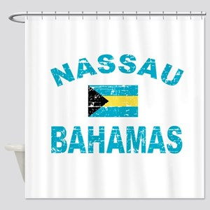 Nassau Bahamas designs Shower Curtain