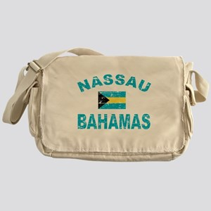 Nassau Bahamas designs Messenger Bag