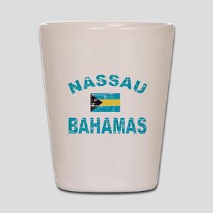 Nassau Bahamas designs Shot Glass
