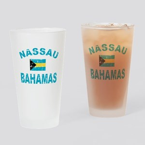 Nassau Bahamas designs Drinking Glass