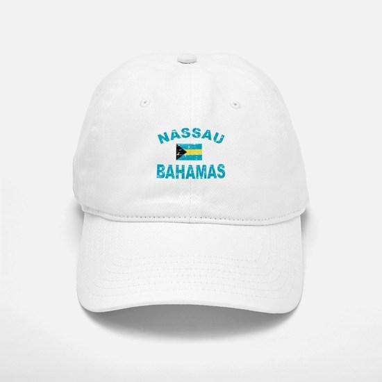Nassau Bahamas designs Baseball Baseball Cap