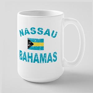 Nassau Bahamas designs Large Mug