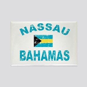 Nassau Bahamas designs Rectangle Magnet