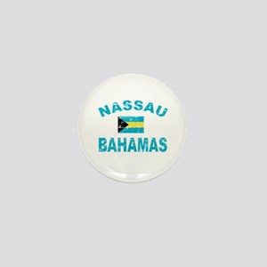 Nassau Bahamas designs Mini Button