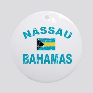 Nassau Bahamas designs Ornament (Round)