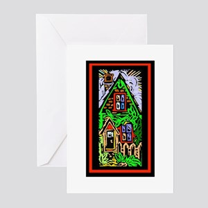 Old House Greeting Cards (Pk of 10)