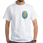 White T-Shirt Ganesha