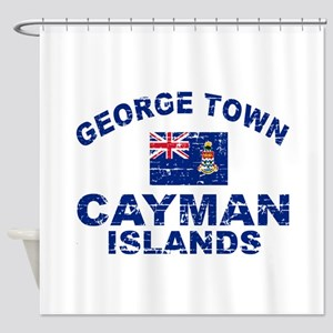 George Town Cayman Islands designs Shower Curtain