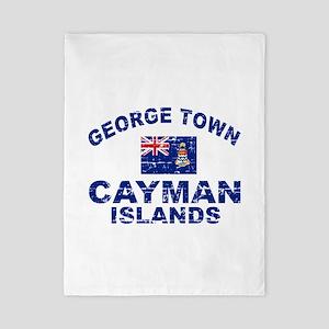 George Town Cayman Islands designs Twin Duvet