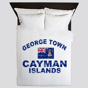 George Town Cayman Islands designs Queen Duvet