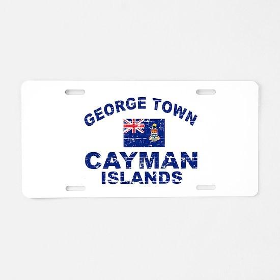 George Town Cayman Islands designs Aluminum Licens