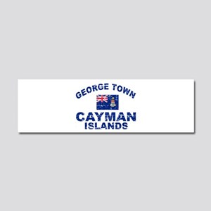 George Town Cayman Islands designs Car Magnet 10 x
