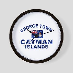 George Town Cayman Islands designs Wall Clock