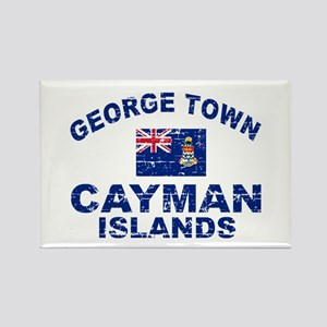 George Town Cayman Islands designs Rectangle Magne