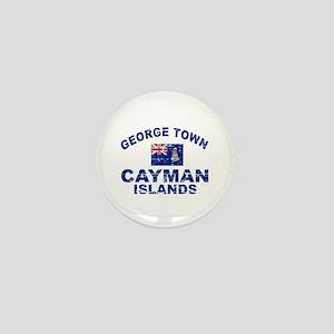 George Town Cayman Islands designs Mini Button