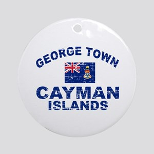 George Town Cayman Islands designs Ornament (Round