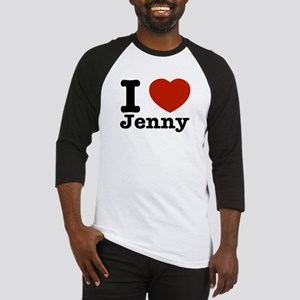 I love Jenny Baseball Jersey