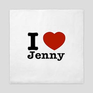 I love Jenny Queen Duvet
