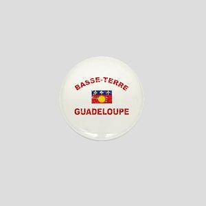 Basse-Terre Guadeloupe designs Mini Button