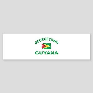 George Town Guyana designs Sticker (Bumper)