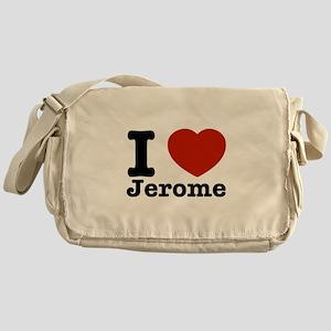 I love Jerome Messenger Bag
