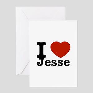 I love Jesse Greeting Card