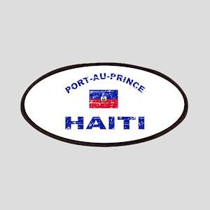 Port-Au-Prince Haiti designs Patches