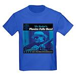Kids Dark Blue Planete Folle T-Shirt