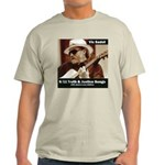 Light Tan 911 Truth & Justice Songs T-Shirt