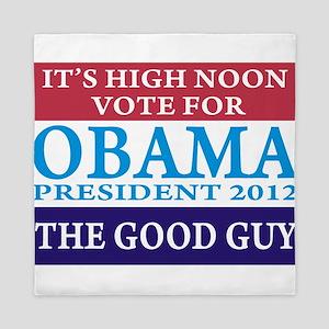 Obama - Vote For The Good Guy Queen Duvet