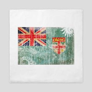 Fiji Flag Queen Duvet