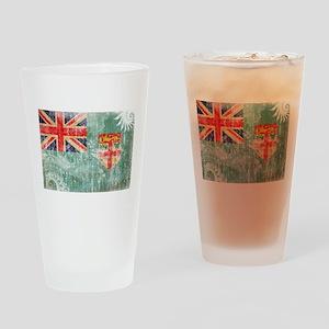 Fiji Flag Drinking Glass