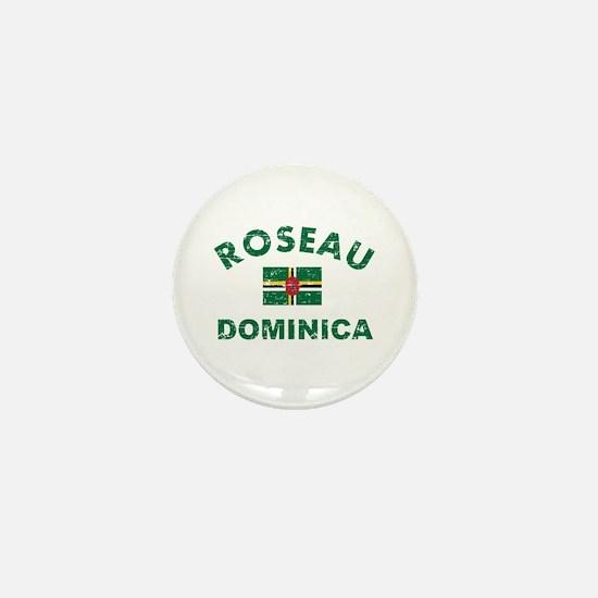 Roseau Dominica designs Mini Button