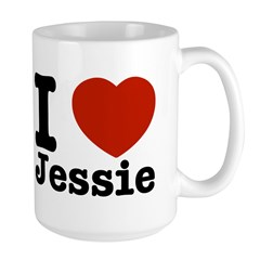 I love Jessie Large Mug