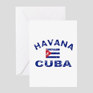 Havana Cuba designs Greeting Card