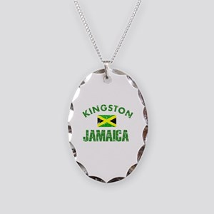 Kingston Jamaica designs Necklace Oval Charm
