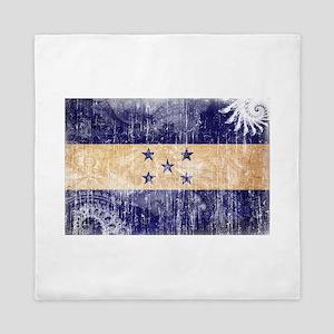 Honduras Flag Queen Duvet