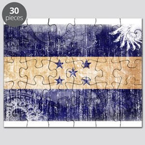 Honduras Flag Puzzle